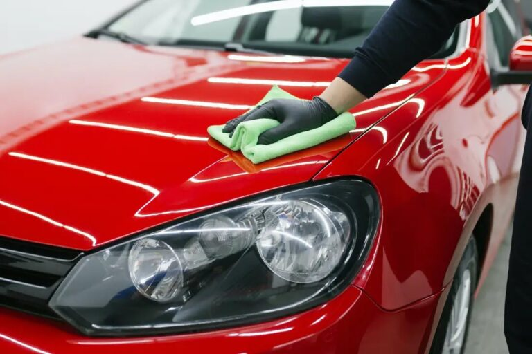 removing car wax with rubbing alcohol